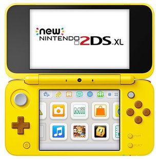 Игровая приставка Nintendo New 2DS XL Pikachu Edition