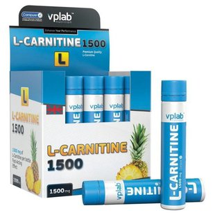 VP Laboratory L-Carnitine 1500 мг (20 ампул х 25 мл)